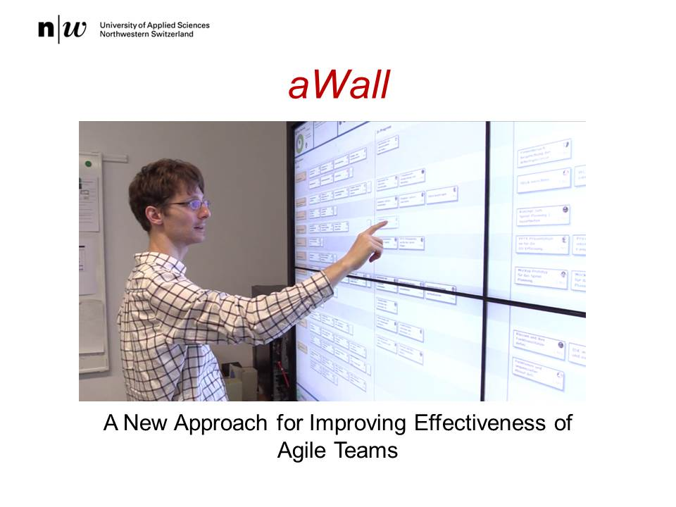 Martin Kropp - PechaKucha - aWall - A New Approach for Improving Effectiveness of Agile Teams