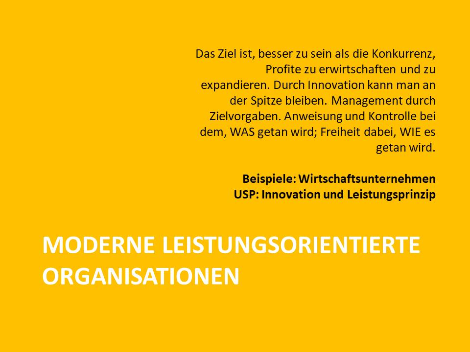 FRITZ - Moderne leistungsorientierte Organisationen nach Laloux