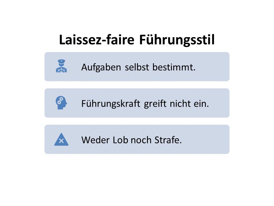 FRITZ - Laissez-faire Führungsstil