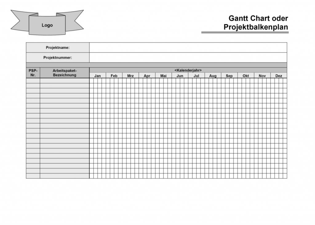 FRITZ - Gantt Chart Template