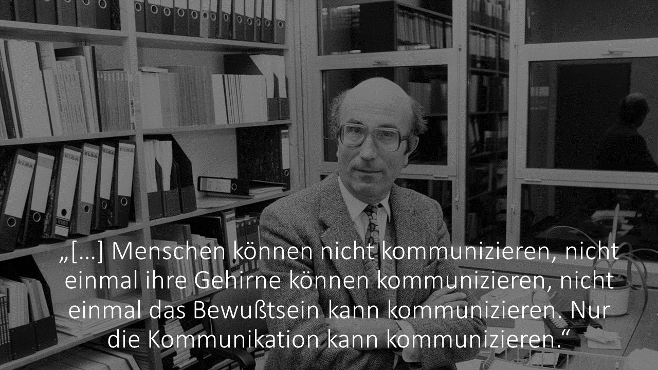 FRITZ - Systemtheorie nach Niklas Luhmann einfach erklärt