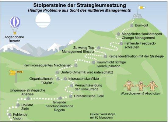 FRITZ - Stolpersteine der Strategieumsetzung