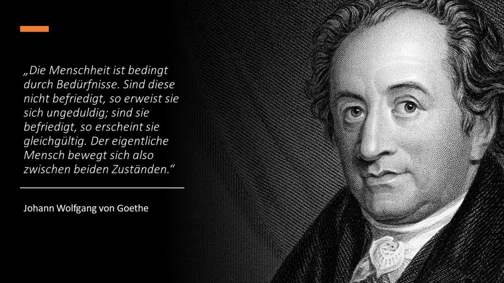 FRITZ - Bedürfnisse Bedarf Nachfrage nach Goethe